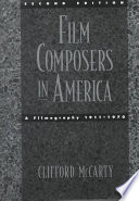 Film Composers in America