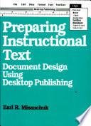 Preparing Instructional Text