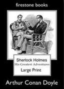 Sherlock Holmes Large Print