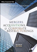 Mergers  Acquisitions  and Corporate Restructurings Book