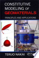 Constitutive Modeling of Geomaterials
