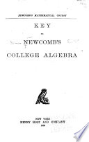 Key to Newcomb s College Algebra