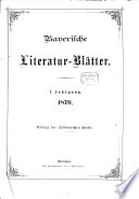 Bayerische Literatur-Blätter