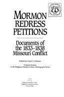 Mormon Redress Petitions Book PDF