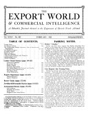 The Export World and Commercial Intelligence