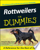 """Rottweilers For Dummies"" by Richard G. Beauchamp"