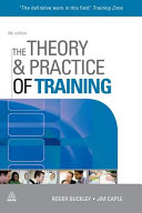 Cover of The Theory & Practice of Training
