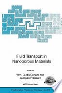 Fluid Transport in Nanoporous Materials