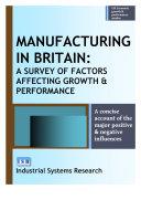 Manufacturing in Britain
