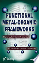 Functional Metal Organic Frameworks Book