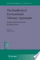 The Handbook Of Environmental Voluntary Agreements Book PDF