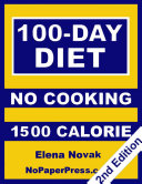 100 Day No Cooking Diet   1500 Calorie