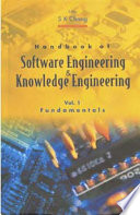 Handbook of Software Engineering and Knowledge Engineering
