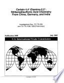 4,4'-diamino-2,2'- Stilbenedisulfonic Acid Chemistry from China, Germany, and Indi