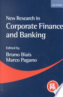 New Research in Corporate Finance and Banking Book