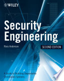 Security Engineering Book