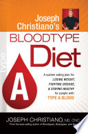Joseph Christiano's Bloodtype Diet A