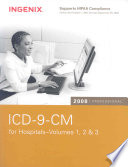 ICD-9-CM 2008 Professional for Hospitals