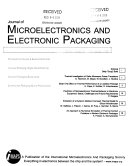 Journal Of Microelectronics And Electronic Packaging