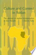 Culture and Context in Sudan