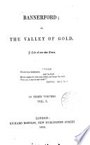 Bannerford Or The Valley Of Gold A Tale