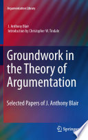 Groundwork in the Theory of Argumentation Book PDF