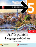 5 Steps to a 5  AP Spanish Language and Culture  2018