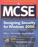 MCSE Designing Security for Windows 2000