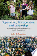 Supervision, Management, and Leadership