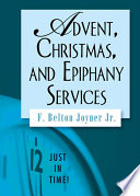 Advent  Christmas  and Epiphany Services Book