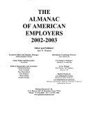Almanac of American Employers_2002-2003