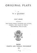 Original Plays  Second Series