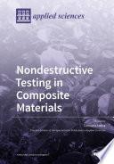 Nondestructive Testing in Composite Materials Book