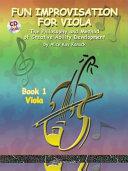Fun Improvisation For Viola Book 1