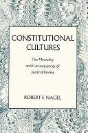 Constitutional Cultures