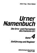 Urner Namenbuch