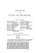 Michigan Official Directory and Legislative Manual