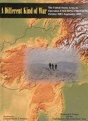 A Different Kind of War ebook