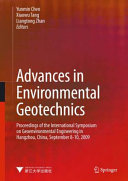 Advances in Environmental Geotechnics: Proceedings of the ...