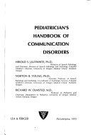 Pediatrician s Handbook of Communication Disorders
