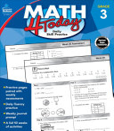 Math 4 Today  Grade 3