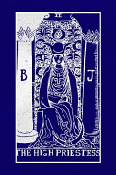 The High Priestess  Tarot Card Journal  6 X 9 Inch Matte Softcover Paperback Notebook with 120 Blank Lined Pages