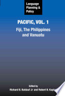 Language Planning And Policy In The Pacific