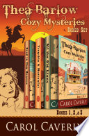 The Thea Barlow Box Set  Three Complete Cozy Mystery Novels