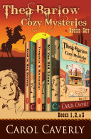 The Thea Barlow Cozy Mysteries Box Set (Three Complete Cozy Mystery Novels) Pdf