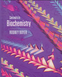 Concepts in Biochemistry Book
