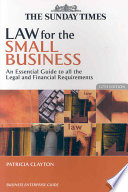 Law For The Small Business Book