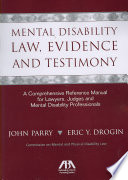 Mental Disability Law Evidence And Testimony
