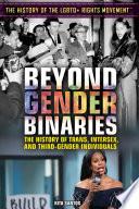 Beyond Gender Binaries Book