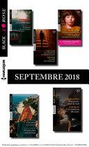 10 romans Black Rose + 1 gratuit (no 495 à 499 - Septembre 2018)